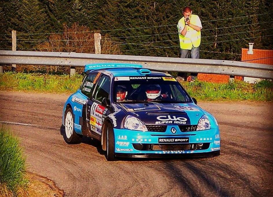 Yoann-Bonato-Benjamin-Bouloud- Renault-Clio-Super-1600 - 2006 - Rallye-Lyon-Charbonnières
