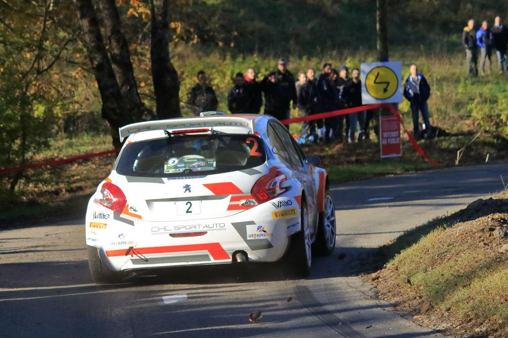 Yoann-Bonato-Denis-Giraudet - Peugeot-208-T16- 2015- Rallye-des-Cévennes - Photo-© RacingCarMedia – Guy Pawlak