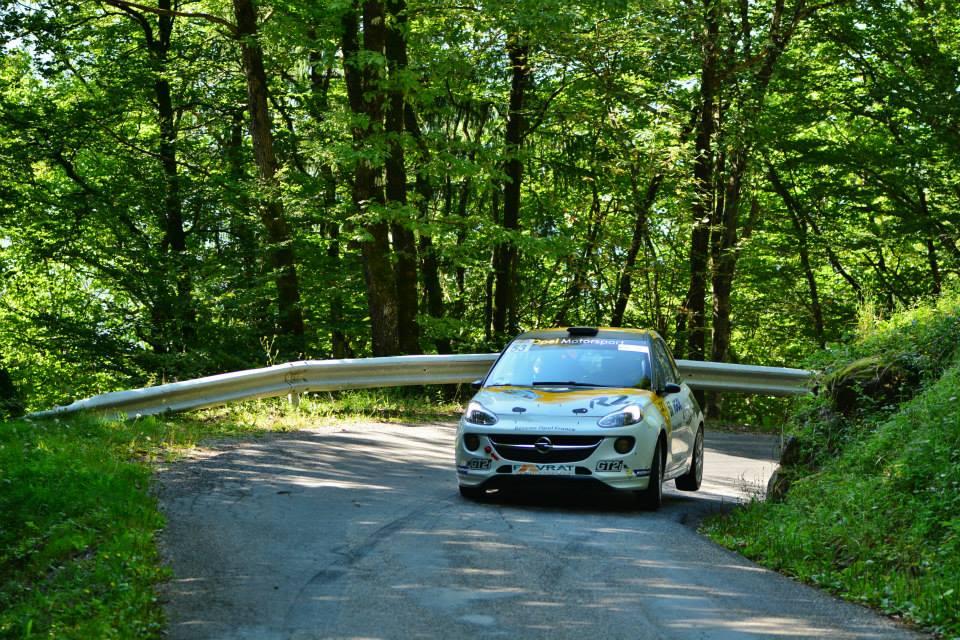 Yoann-Bonato-Thierry-Michaud- Opel-Adam-R2-Performance - 2014 - Rallye-du-Mont-Blanc