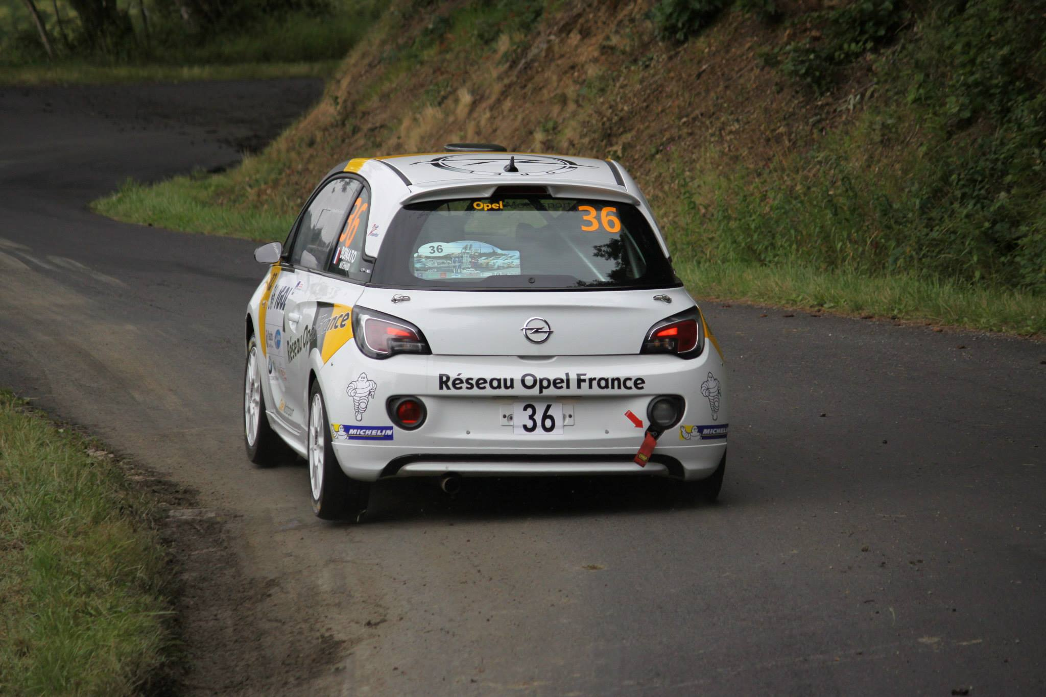 Yoann-Bonato-Thierry-Michaud- Opel-Adam-R2-Performance - 2014 - Rallye-du-Rouergue