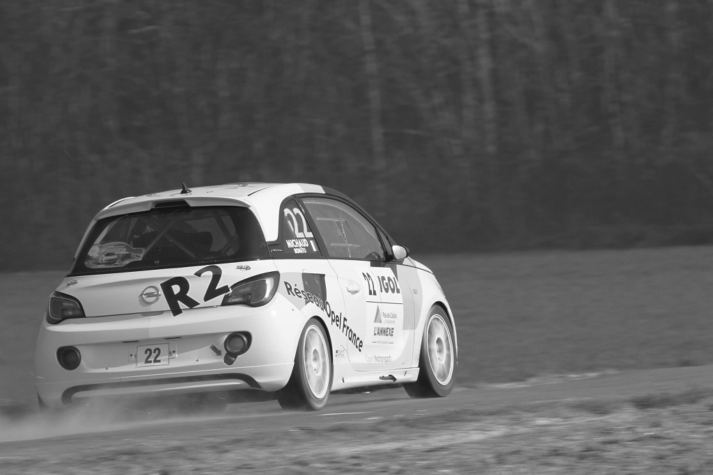 Yoann-Bonato-Thierry-Michaud- Opel-Adam-R2-Performance - 2014 - Rallye-du-Touquet