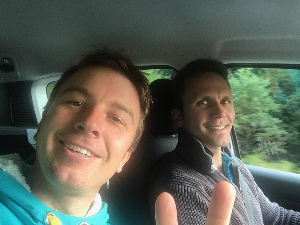 Yoann-Bonato (au premier plan) - Benjamin-Boulloud - 2017 - en-route-pour-le-Rallye-Coeur-de-France