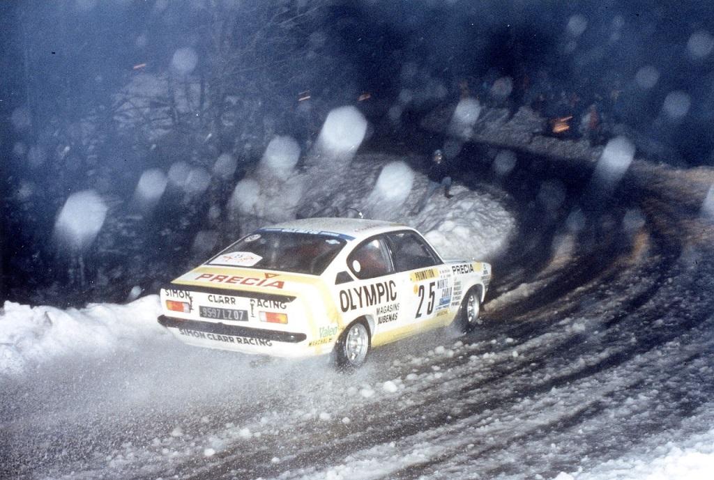 Yves-Jouanny-Claude Maldjian - Opel-Kadett-GTE - 1984 - Rallye-Monte-Carlo- Photo-Thierry-Le-Bras