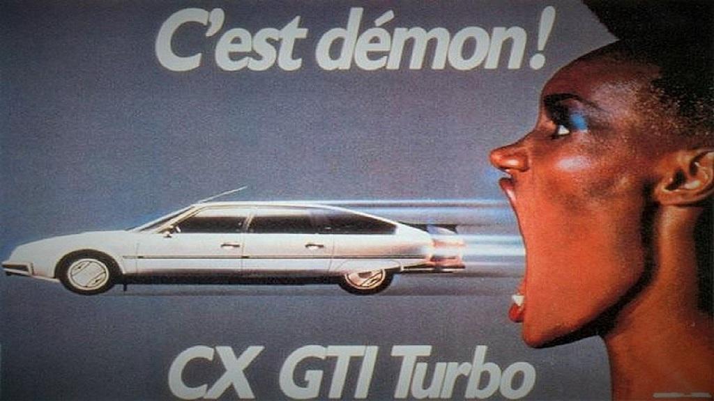publicité-Citroën-CX-2400-GTI-Turbo - c-est-démon